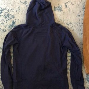 soulcycle Other - SoulCycle navy zip up sweatshirt sz m